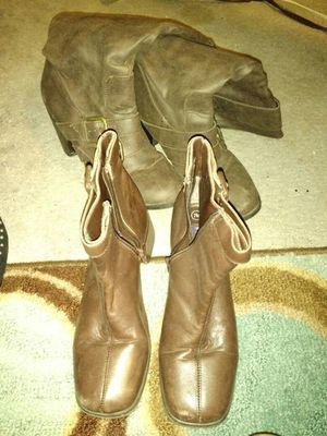 Short and tall boots for Sale in Denver, CO