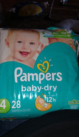 Baby dry pampers for Sale in Austin, TX