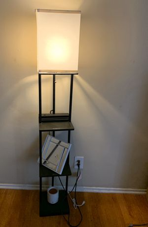 Three Shelf Floor Lamp for Sale in Hawthorne, CA