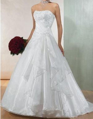 Wedding Dress - Haute Couture by Maggie Sottero for Sale in Groves, TX