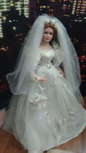 Porcelaine wedding doll for Sale in Columbus, OH