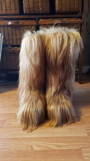 VINTAGE Ideal long fur boots 39 - 40 for Sale in Seattle, WA