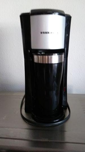 Black &Decker single cup coffee maker for Sale in Tacoma, WA