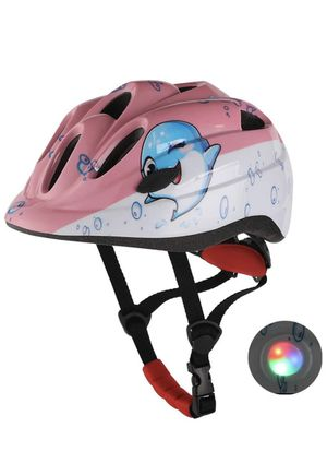 Kids Bike Helmet Pink with LED Light - Brand New for Sale in South Windsor, CT