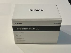 Brand New Sigma 18-35mm f/1.8 for Sale in Los Angeles, CA