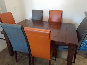 Dining room table with chairs for Sale in North Miami Beach, FL