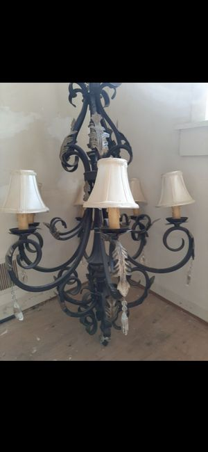 Large 6 light chandelier for Sale in Glen Mills, PA