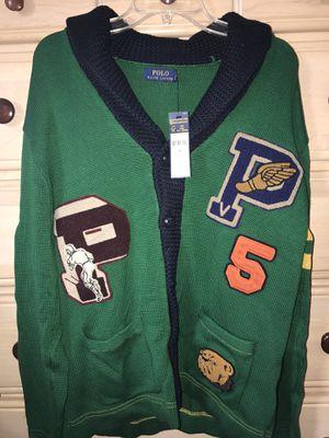 *NEW* Polo Ralph Lauren Heavy Cardigan Sweater (Men's) SZ. L for Sale in Alexandria, VA