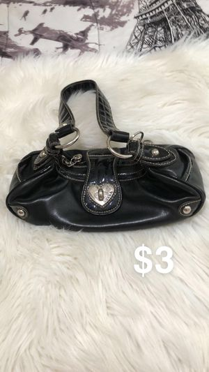 Black Leather Purse for Sale in Dinuba, CA