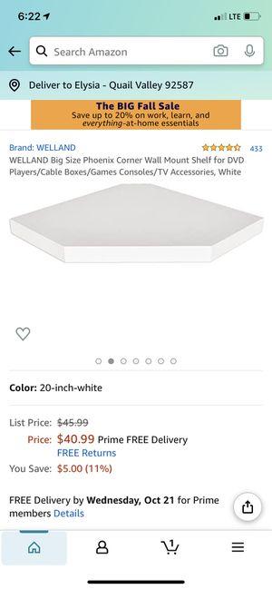 Corner shelf for Sale in Canyon Lake, CA