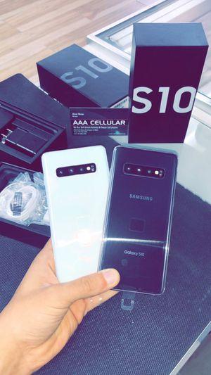 Galaxy S10 128GB Unlocked! (Verizon, T-Mobile, AT&T, Cricket, Metro!) for Sale in Arlington, TX
