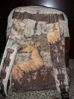travel/camping backpack with elk graphic for Sale in Peoria, AZ