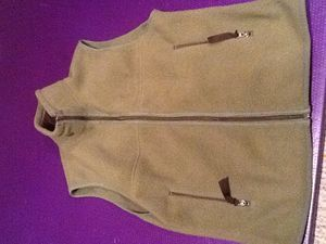 Patagonia Small Synchilla full zip vest ,2 zipper pockets used for Sale in Independence, KY