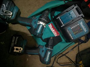 Makita hammer drill and drill driver for Sale in Tacoma, WA