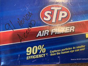 Air filter 91 HONDA ACCORD new for Sale in San Bernardino, CA