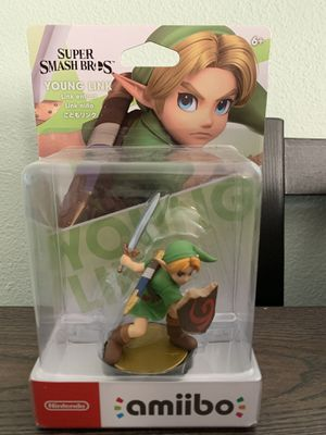 Young Link Amiibo Smash Bros BRAND NEW UNOPENED for Sale in Inglewood, CA