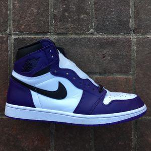 Jordan 1 Court Purples for Sale in Dumfries, VA