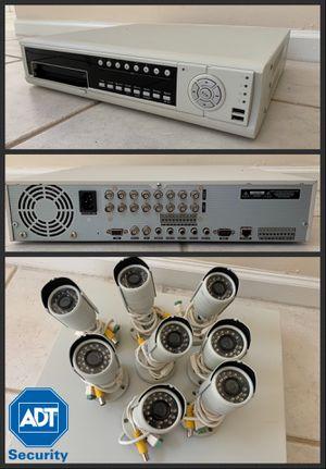 ADT Commercial Security Camera Digital Video Recorder DVR 8 cameras for Sale in Tamarac, FL