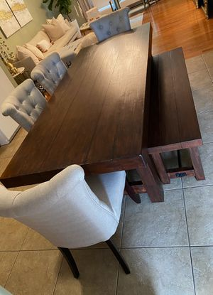 Dining room table with chairs for Sale in Erie, PA