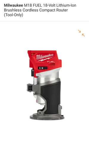 Milwuakee Fuel Brushless m18 Router new in box for Sale in Garden Grove, CA