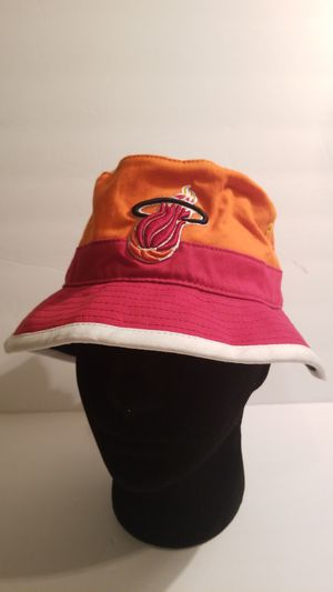 Official NBA Miami Heat Mitchell and Ness Bucket hat for Sale in Spring, TX