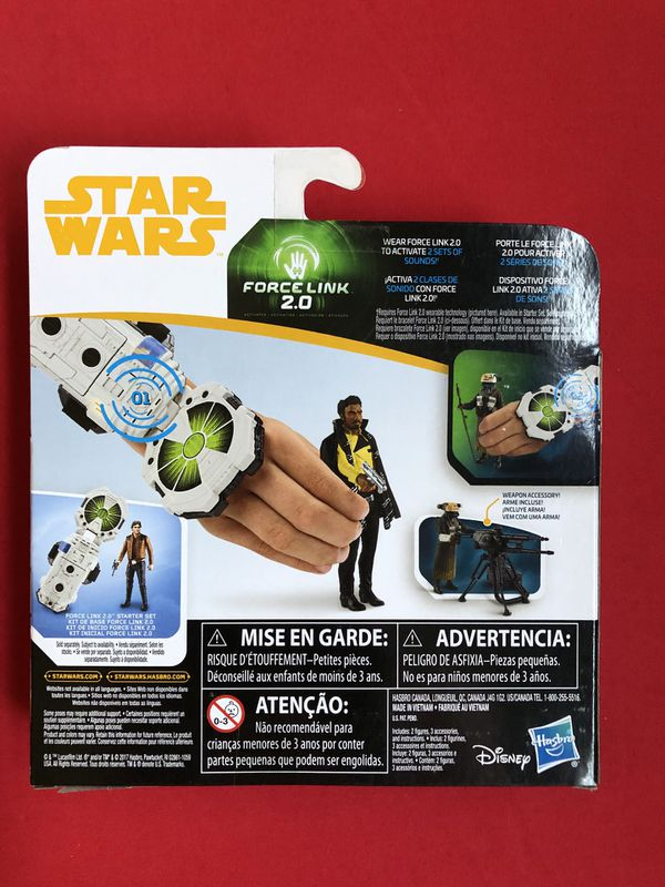 Star Wars Solo Force Link 2.0 action figures