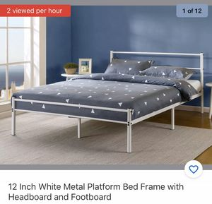 Queen bed frame for Sale in Westgate, NY