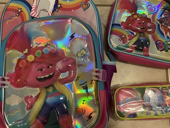 Trolls 3 In 1 Bookbag for Sale in Hollywood,  FL