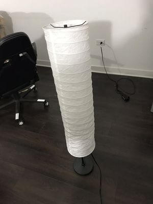 IKEA floor lamp with light bulb for Sale in Chicago, IL
