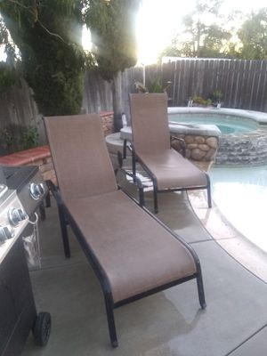 Outdoor Pool Lounge Chairs for Sale in Moreno Valley, CA