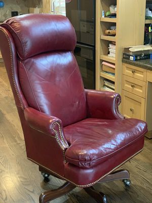 Leather Chair for Sale in Bellevue, WA