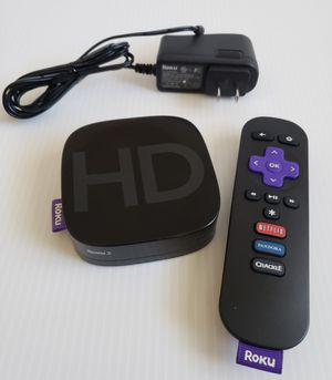 Roku 2 Digital HD Media Streamer Model 3000X with AC Adapter & Remote. for Sale in Adelphi, MD