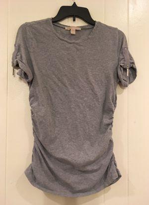 Michael Kors silver zip casual tee for Sale in Winter Haven, FL