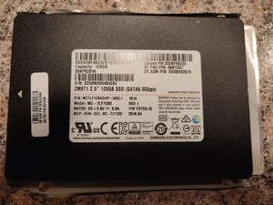"""Samsung CM871 128GB SSD 2.5"""" for Sale in Indianapolis, IN"""