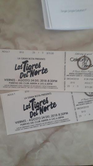 Tigers del Norte tickets for Sale in Phoenix, AZ