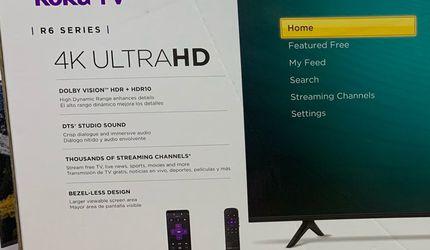 """BRAND NEW HISENSE ROKU TV 58"""" for Sale in Orange,  CA"""