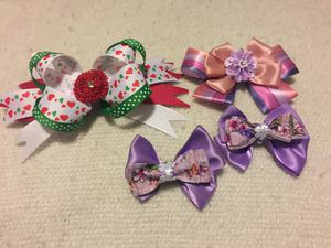 BEAUTIFUL HAIR BOWS for Sale in Washington, DC