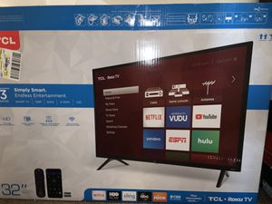 TCL Roku Tv 32 inch LED Smart tv for Sale in Starkville, MS