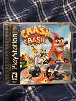 Crash bash ps1 PlayStation 1 video game complete for Sale in San Francisco, CA