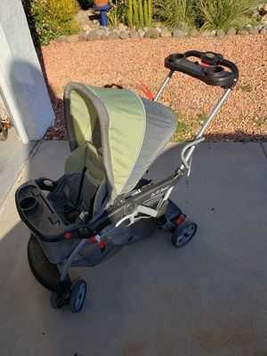 Double stroller, sit and stand for Sale in Glendale, AZ