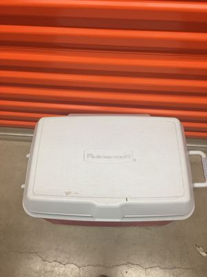 Red cooler for Sale in Pasadena, MD