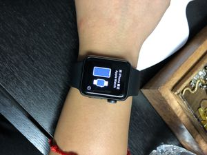 Series 3 Apple Watch 38mm Space Gray Aluminum Case with Black Sports Band for Sale in Chicago, IL