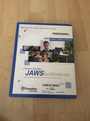 Jaws program version 14 for Sale in Tempe, AZ