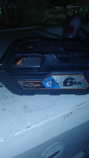 Rigid 18v litium battery for Sale in Las Vegas, NV