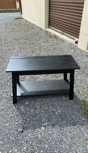 Black Walmart TV Stand for Sale in Carlisle, PA