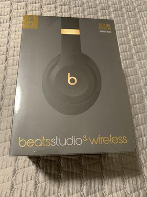 Beats Studio3 Wireless Headphones - The Beats Skyline Collection - Midnight Black for Sale in Tuxedo Park, NY