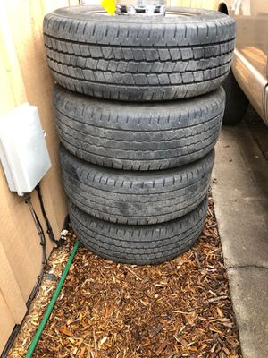 Dodge pickup wheels and tires for Sale in Prineville, OR