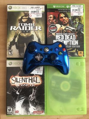 Xbox 360 Bundle ( Games and Controller) 🔥 for Sale in Hialeah, FL