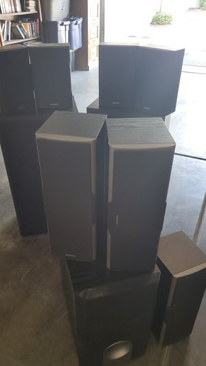 Ten piece Onkyo speakers for Sale in Rancho Cucamonga, CA