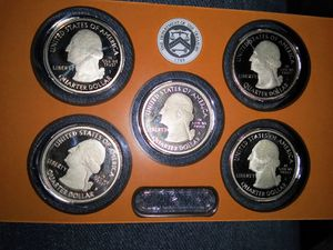 2019-W Complete West Point Mint Set-5 Coins-America the Beautiful-Brilliant Uncirculated for Sale in Fife, WA